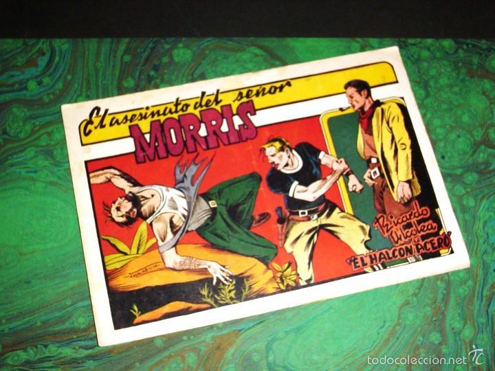 HALCON DE ACERO (AMELLER-1945). Nº 7 (MACABICH) (Tebeos y Comics - Ameller)
