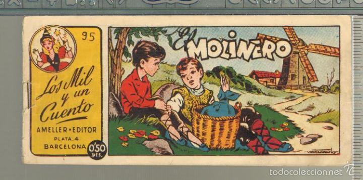 TEBEOS-COMICS GOYO - MIL Y UN CUENTO - Nº 95 - AMELLER - 1949 - MUY DIFICIL *AA99 (Tebeos y Comics - Ameller)