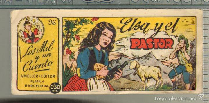 TEBEOS-COMICS GOYO - MIL Y UN CUENTO - Nº 96 - AMELLER - 1949 - MUY DIFICIL *AA99 (Tebeos y Comics - Ameller)