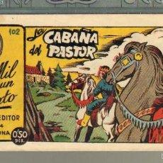Tebeos: TEBEOS-COMICS GOYO - MIL Y UN CUENTO - Nº 102 - AMELLER - 1949 - MUY DIFICIL *AA99. Lote 57497848