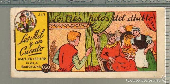 TEBEOS-COMICS GOYO - MIL Y UN CUENTO - Nº 237 - AMELLER - 1949 - MUY DIFICIL *AA99 (Tebeos y Comics - Ameller)