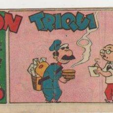 Tebeos: DON TRIQUI Nº 46. (8X16) AMELLER 1942.. Lote 57814271
