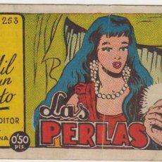 Giornalini: LOS MIL Y UN CUENTO. Nº 253. AMELLER 194?. AL DORSO OBSEQUIO DE CHOCOLATES CARI.. Lote 92784325
