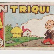 Tebeos: DON TRIQUI Nº 24. (8X16) AMELLER 1942.. Lote 57814787