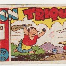 Tebeos: DON TRIQUI Nº 22. (8X16) AMELLER 1942. AL DORSO: OBSEQUIO DE CHOCOLATES CARI.. Lote 57814809