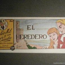Tebeos: TEBEO - COMIC - LOS MIL Y UN CUENTO - AMELLER - Nº 64 - EL HEREDERO - . Lote 58597265