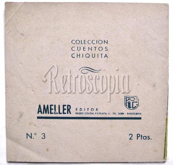 Tebeos: CUENTOS CHIQUITA LA BELLA DURMIENTE Nº 3 AMELLER - Foto 2 - 58598838