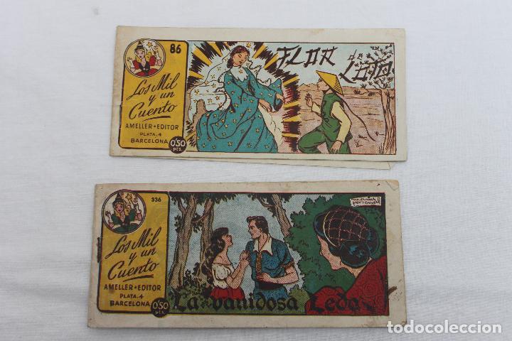 2 COMIC, LOS MIL Y UN CUENTO DE AMELLER, Nº 86 Y 336, BARCELONA 1949? (Tebeos y Comics - Ameller)