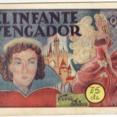 Tebeos: EL INFANTE VENGADOR. COLECCION PILARIN 25. Lote 69606089