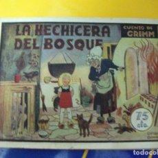 Tebeos: LA HECHICERA DEL BOSQUE 10 AMELLER COLECCION PILARIN. Lote 69606793
