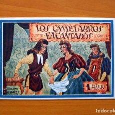 Tebeos: AMELLER MONOGRÁFICOS, Nº 25 - LOS CANDELABROS ENCANTADOS - EDITORIAL AMELLER AÑOS 40. Lote 70021961