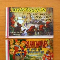 Tebeos: BLANCANIEVES - COMPLETA - EDITORIAL AMELLER - 2 EJEMPLARES - AÑOS 40. Lote 70025277