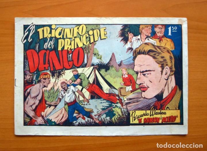 EL HALCÓN DE ACERO, Nº 2 EL TRIUNFO DEL PRINCIPE DANGO - EDITORIAL AMELLER 1944 - TAMAÑO 22X32 (Tebeos y Comics - Ameller)
