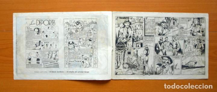 Tebeos: El halcón de acero, nº 2 El triunfo del Principe Dango - Editorial Ameller 1944 - tamaño 22x32 - Foto 2 - 70025741