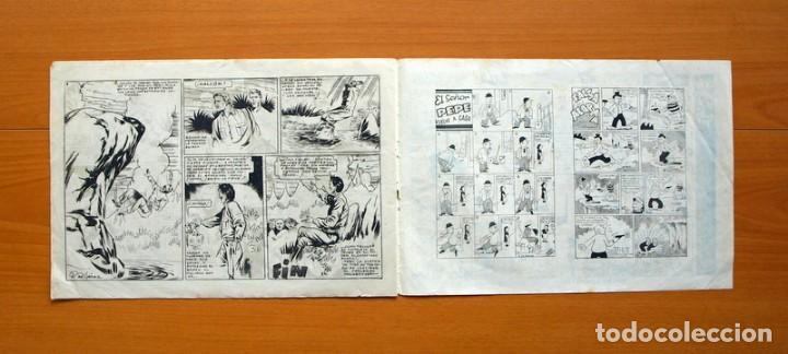 Tebeos: El halcón de acero, nº 2 El triunfo del Principe Dango - Editorial Ameller 1944 - tamaño 22x32 - Foto 4 - 70025741