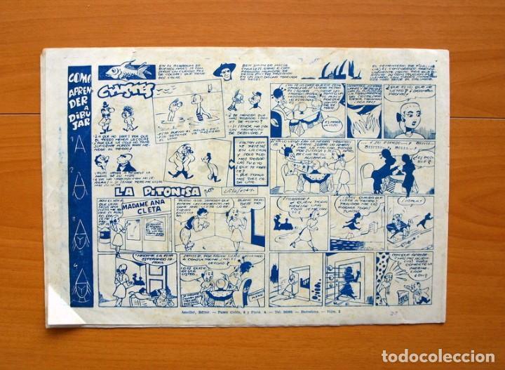 Tebeos: El halcón de acero, nº 2 El triunfo del Principe Dango - Editorial Ameller 1944 - tamaño 22x32 - Foto 5 - 70025741
