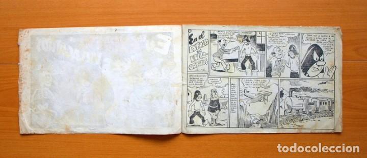 Tebeos: El caballero enmascarado, nº 8 El expreso de villa Gatitos - Editorial Ameller 1945 - Tamaño 21x32 - Foto 2 - 70026317