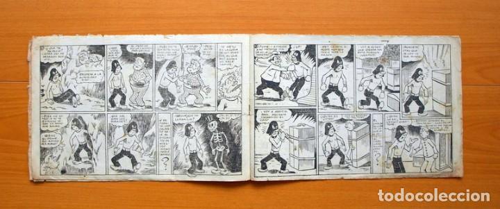 Tebeos: El caballero enmascarado, nº 8 El expreso de villa Gatitos - Editorial Ameller 1945 - Tamaño 21x32 - Foto 3 - 70026317