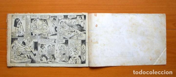 Tebeos: El caballero enmascarado, nº 8 El expreso de villa Gatitos - Editorial Ameller 1945 - Tamaño 21x32 - Foto 4 - 70026317