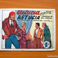 Tebeos: DIEGO CORRIENTES, Nº 4 ASTUCIA CONTRA ASTUCIA - EDITORIAL AMELLER 1950. Lote 70027105
