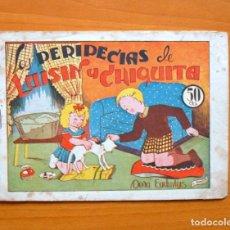 Tebeos: LUISIN Y CHIQUITA, Nº 4 DOÑA EUDUVIGIS - EDITORIAL AMELLER 1943. Lote 70027513