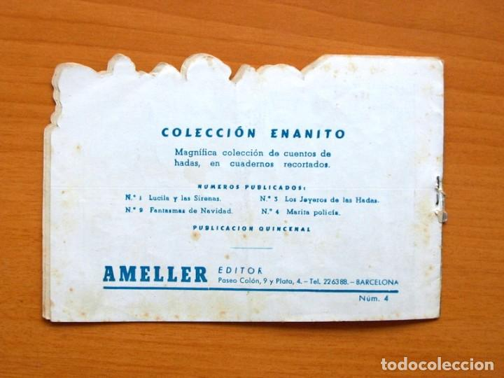 Tebeos: Colección Enanito, nº 4 Marita policia - Editorial Ameller - Foto 5 - 71177101