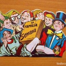 Tebeos: COLECCIÓN ENANITO, Nº 40 LA FAMILIA SEMANA - EDITORIAL AMELLER. Lote 71177465