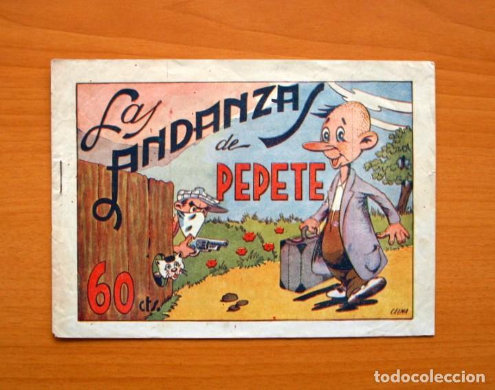LAS ANDANZAS DE PEPETE - EDITORIAL AMELLER, AÑOS 40 (Tebeos y Comics - Ameller)