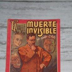 Giornalini: EL VALLE DE LA MUERTE INVISIBLE-NOVELA DE HUGO CORIN-ADOLFO OBER-AMELLER EDITOR-BARCELONA. Lote 76208675