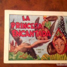 Tebeos: LA PRINCESA ENCANTADA -AMELLER-CUENTOS AMELLER -NÚMERO 26-ILUSTRACIONES DE BEYLOC. Lote 82338192