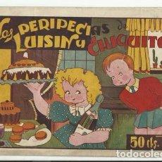 Tebeos: LAS PERIPECIAS DE LUISIN Y CHIQUITA 3, 1943, BUEN ESTADO. Lote 86048116