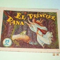 BDs: HISTORIETAS GRÁFICAS PILRARÍN Nº 4 EL PRINCIPE RANA DE AMELLER EDITOR - AÑO 1940S.. Lote 87270200