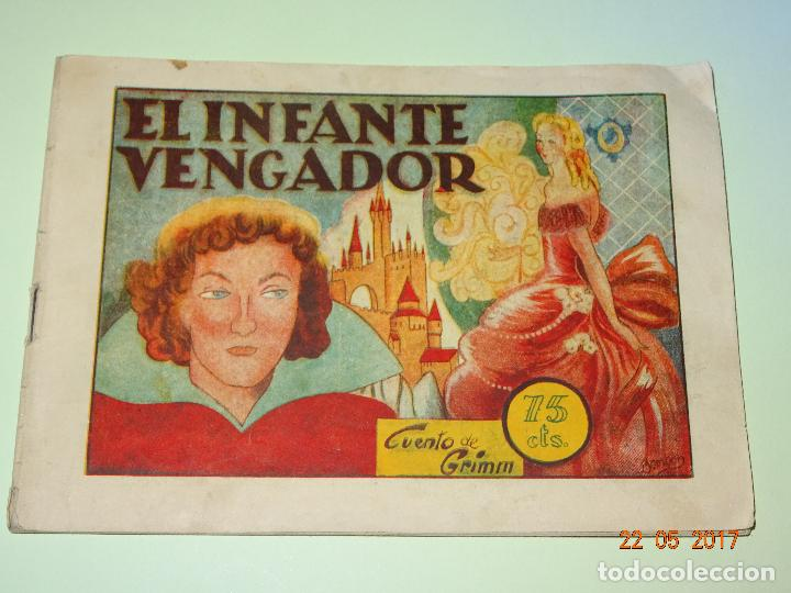 EL INFANTE VENGADOR DE HISTORIETAS GRÁFICAS PILARÍN DE AMELLER EDITOR - AÑO 1940S. (Tebeos y Comics - Ameller)