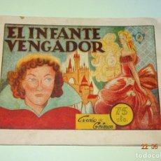 Tebeos: EL INFANTE VENGADOR DE HISTORIETAS GRÁFICAS PILARÍN DE AMELLER EDITOR - AÑO 1940S.. Lote 87270960