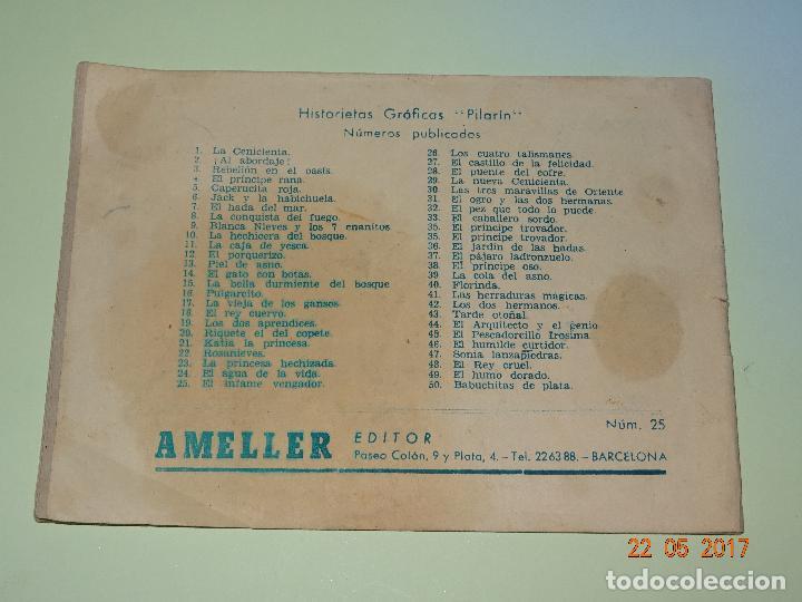 Tebeos: EL INFANTE VENGADOR de Historietas Gráficas PILARÍN de AMELLER Editor - Año 1940s. - Foto 2 - 87270960