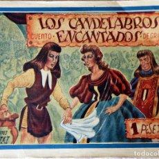 Tebeos: L-4554. LOS CANDELABROS ENCANTADOS. CUENTO DE GRIMM. ILUSTRACIONES F. BATET. ORIGINAL. Lote 97482203