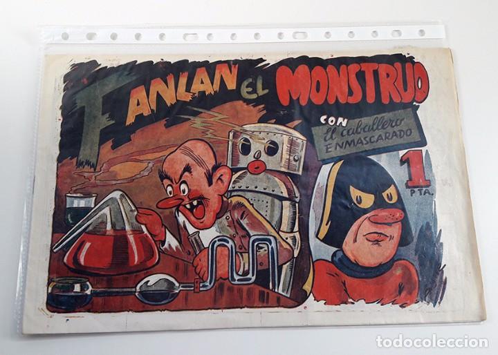 EL CABALLERO ENMASCARADO Nº 3. PERFECTO ESTADO. AMELLER 1945 (Tebeos y Comics - Ameller)