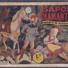Tebeos: COMIC SAPOS Y DIAMANTES CUENTO DE PERRAULT ILUSTRADO POR ENRIQUETA BOMBON. Lote 104349263