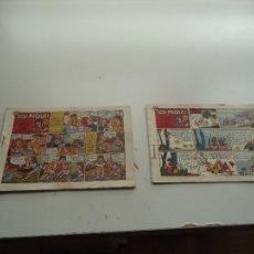 Tebeos: LOS PEQUES, AÑO 1.950. Nº 4 Y 7. ORIGINAL DIBUJANTE G. IRANZO, AYNÉ. AMELLER EDITOR.. Lote 106064507