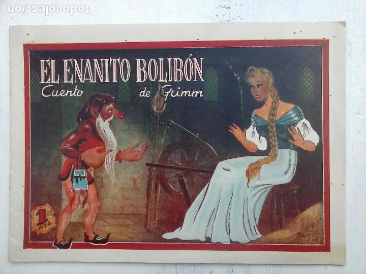 AMELLER - EL ENANITO BOLIBÓN - CUENTO DE GRIMM - ORIGINAL 1942 (Tebeos y Comics - Ameller)