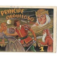 Tebeos: HISTORIETAS GRÁFICAS, Nº 70. EL PRÍNCIPE ORGULLOSO. ORIGINAL AÑO 1.942. AMELLER EDITOR.. Lote 116208783