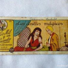Tebeos: LOS MIL Y UN CUENTO Nº 211 * LOS ANILLOS MAGICOS * AMELLER * ORIGINAL EPOCA * 1949. Lote 117343831
