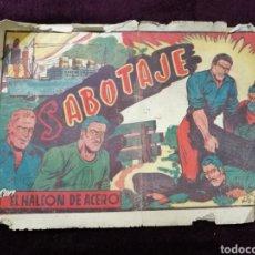 Tebeos: COMIC EL HALCÓN DE ACERO AMELLER 1946 ORIGINAL. Lote 119344100