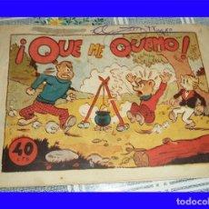 BDs: OSITO Y TIGRIN N.º 17 QUE ME QUEMO ED. AMELLER ORIGINAL DE EPOCA 40 CTS . Lote 119997907