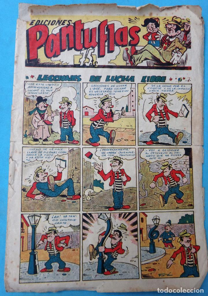EDICIONES PANTUFLAS Nº 5 , ANTIGUO ,REGULAR ESTADO , ORIGINAL (Tebeos y Comics - Ameller)