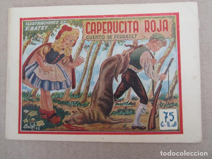 HISTORIETAS GRAFICAS PILARIN , N.5 , CAPERUCITA ROJA , F. BATET , AMELLER 1942 (Tebeos y Comics - Ameller)