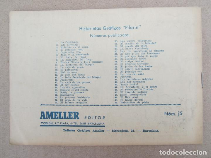 Tebeos: historietas graficas pilarin , n.5 , caperucita roja , F. Batet , ameller 1942 - Foto 2 - 130508490