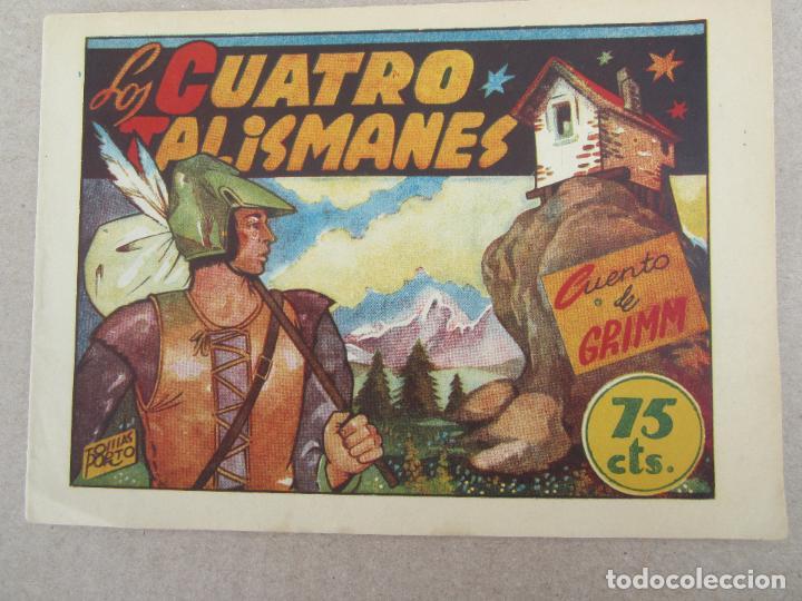 HITORIETAS GRAFICAS PILARIN , N.26 , LOS CUATRO TALISMANES , CUENTO DE GRIMM , AMELLER 1942 (Tebeos y Comics - Ameller)