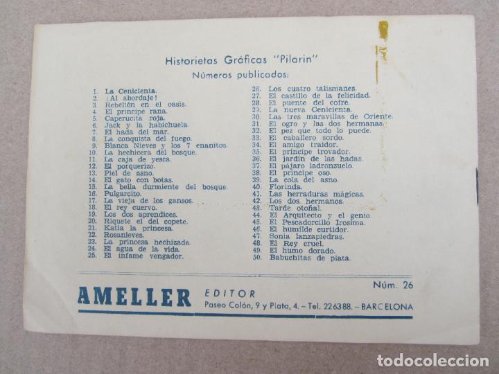 Tebeos: hitorietas graficas pilarin , n.26 , los cuatro talismanes , cuento de grimm , ameller 1942 - Foto 2 - 130509654