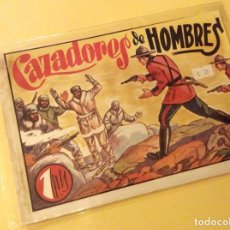 Tebeos: HISTORIETAS GRAFICAS ( AMELLER) . CAZADORES DE HOMBRES. Lote 131875714